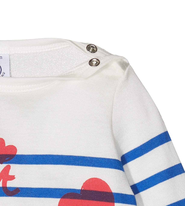 Petit Bateau Tee Shirts ML Jour B/éb/é Fille
