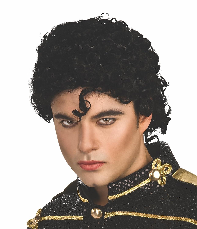 Rubies Michael Jackson Curly Adult Costume Wig- 51911PC