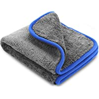 Zoegate Car Wash Microfiber Towel/Cloth Microfiber Cleaning Towel Lint-Free Dual Layer Ultra-Thick Car Wash Buffing Wax Polishing and Drying Cloth Towel Auto Detailing Towels Dish Car Gym Towel Glass