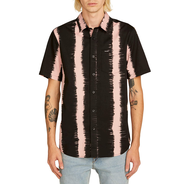 Volcom Hombre con Botones Camisa: Amazon.es: Ropa y accesorios