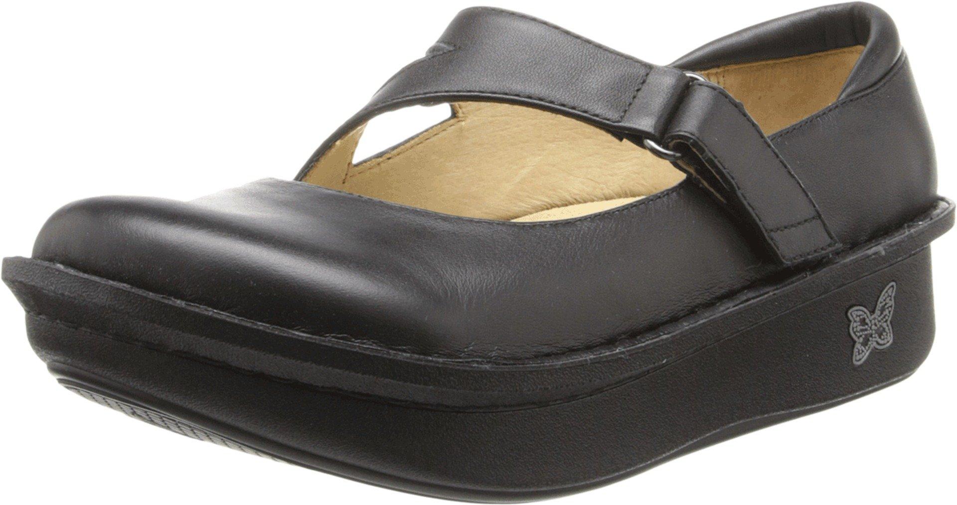 Alegria Women's Dayna Professional Black Napa Leather 38 W EU by Alegria
