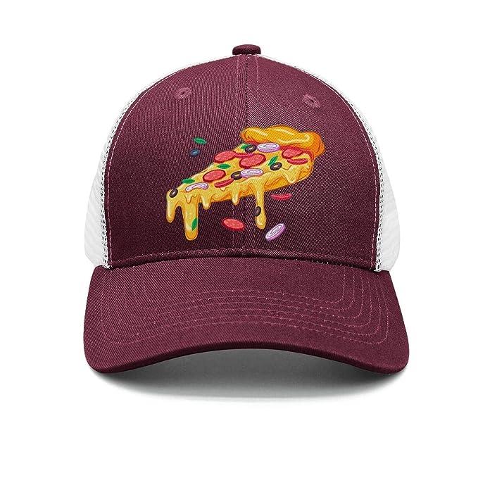 ONEYUAN Man Chicago Pizza Baseball Cap Sport Cap at Amazon Men s ... 5e08f6f84b6