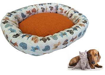 Ducomi Softly C – Cojín acolchado y blando para perros, gatos y cachorros. La