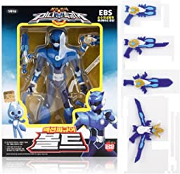 Miniforce Bolt Korean Robot Action Figure Blue 5.5