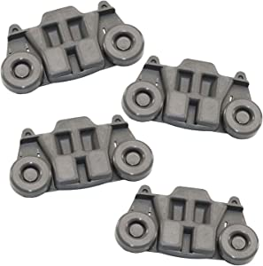 Supplying Demand W10195416 Dishwasher 4 Piece Lower Rack Wheel Assembly