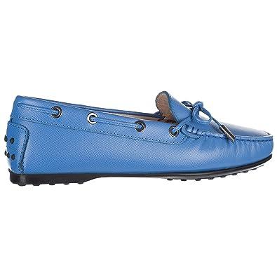 Tod s Mocassins Femme en Cuir Blu  Amazon.fr  Chaussures et Sacs 0c7ffb1f51c5