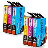 OfficeWorld Sostituzione per HP 935 935XL Cartucce d'inchiostro Alta Capacità con Nuovi Chip per HP Officejet Pro 6830 6230 6820 6812 6815 6835 (2 Ciano, 2 Magenta, 2 Giallo)