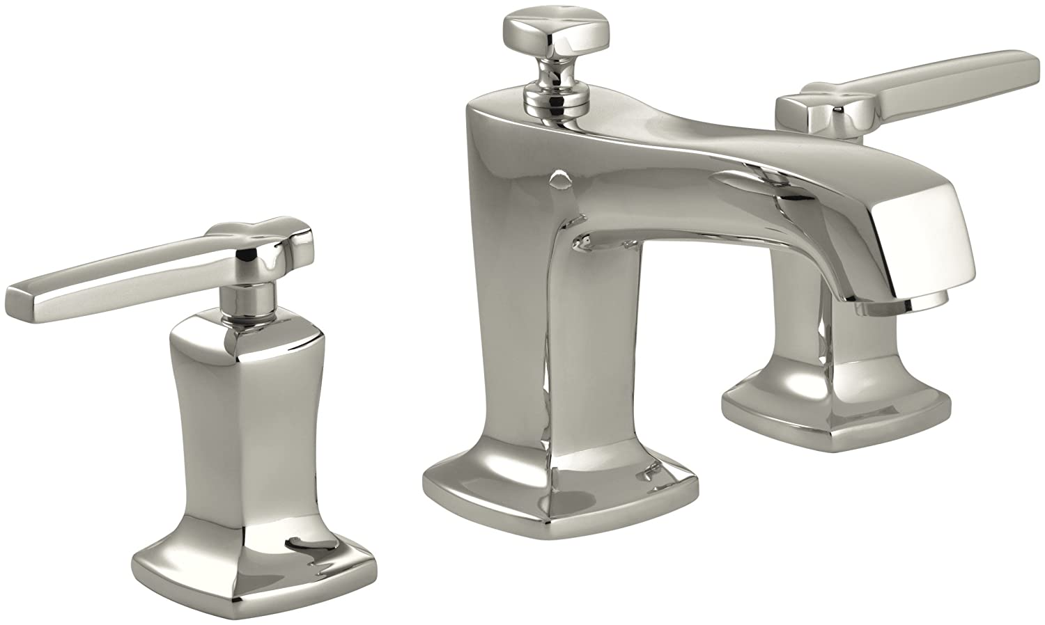 kohler k 16232 4 bn margaux widespread lavatory faucet vibrant kohler k 16232 4 bn margaux widespread lavatory faucet vibrant brushed nickel touch on bathroom sink faucets amazon com
