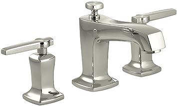 Kohler K 16232 4 Sn Margaux Widespread Lavatory Faucet Vibrant