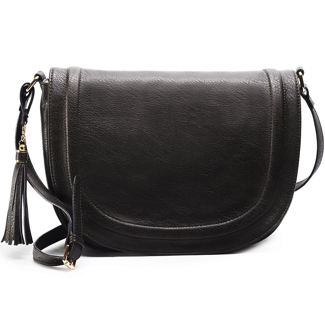 Large Shoulder Crossbody Bags Saddle Bag women bags with Tassel
