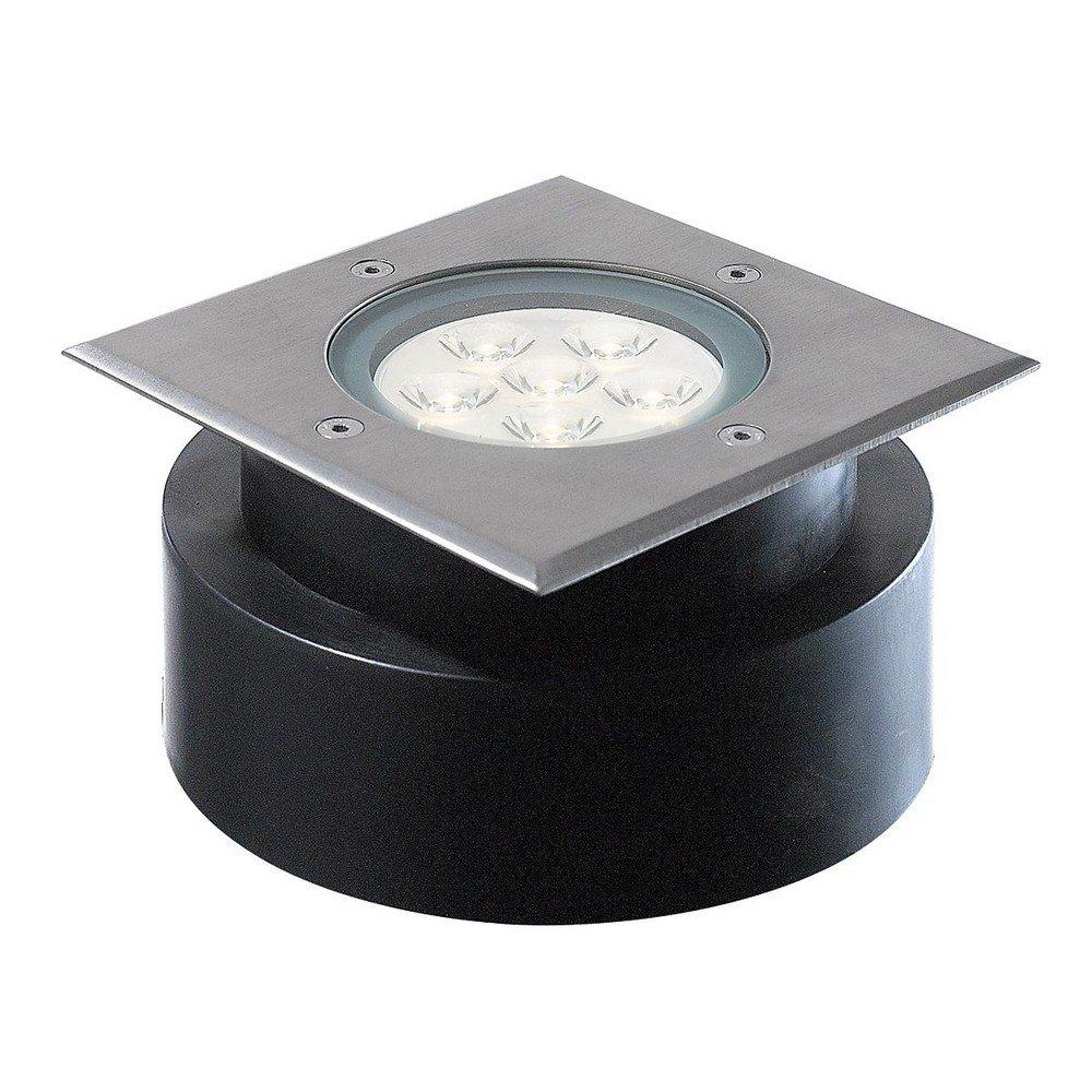 Eurofase 32192-018 Inground Outdoor Shallow Square LED 6x1W, Stainless Steel