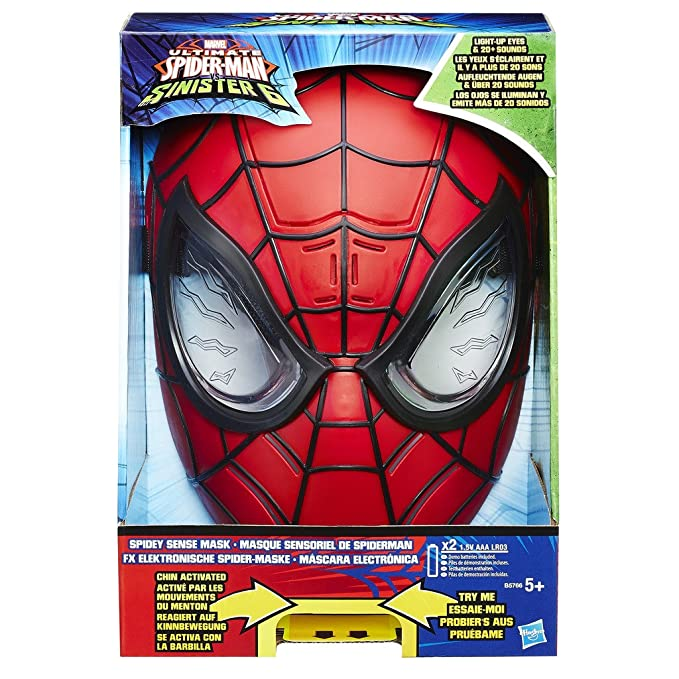Spider-Man A1514 - Máscara de Spiderman Electrónica: Amazon.es: Juguetes y juegos