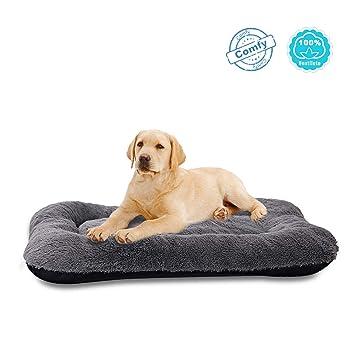 Amazon.com: Cama para perros ANWA, tamaño mediano, cojín ...