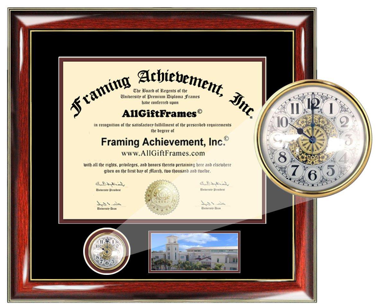 AllGiftFrames Chapman Law School Diplom Rahmen Premier Uhr mit ...