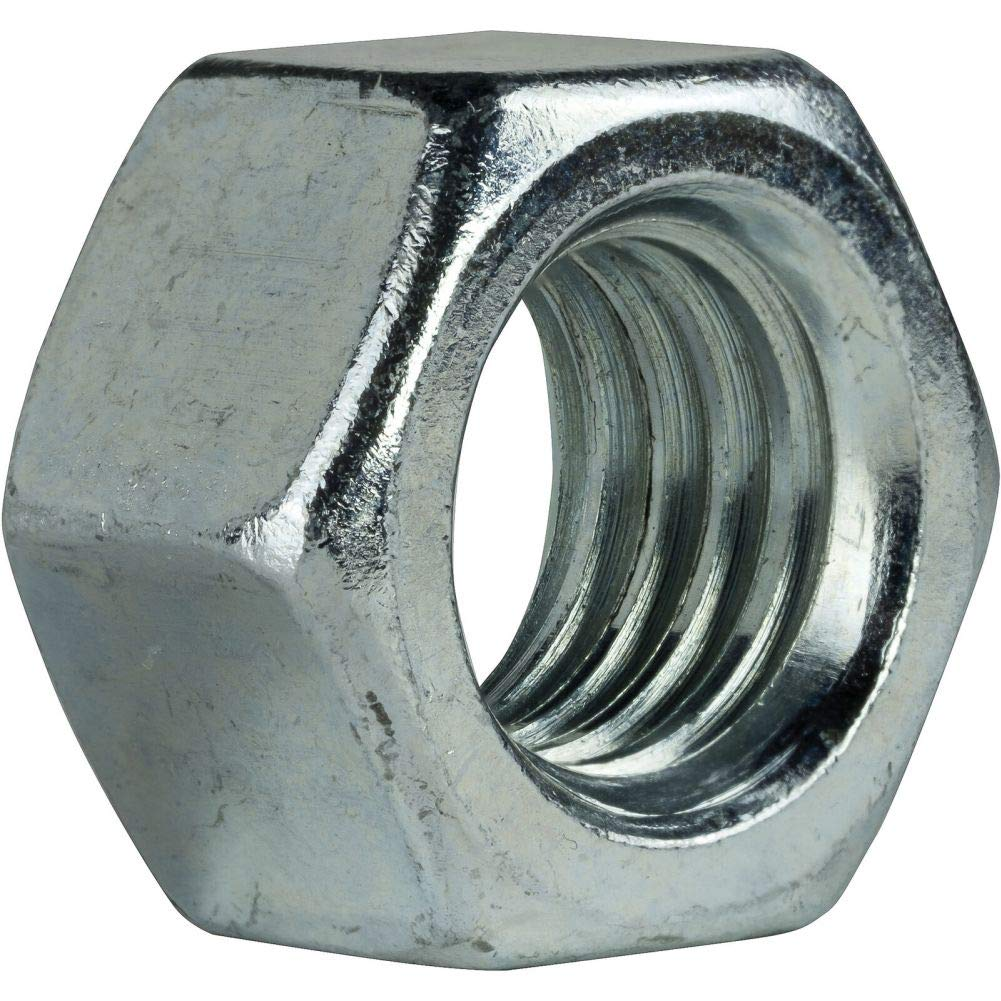 1-1//2-6 Grade 5 Finished Hex Nuts Electro Zinc Plated Steel Qty 25