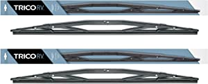 "2 Wiper Set - Trico 67-321 32"" Heavy Duty Wiper Blades Fit Select Coach Bus RV w/Wide Saddle Attachment - If Vehicle Not In Amazon Garage Verify Fitment at www.TricoProducts.com Before Purchasing"