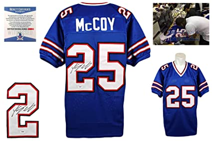sale retailer a827a 4cbf7 LeSean McCoy Autographed SIGNED Jersey - Beckett Authentic ...