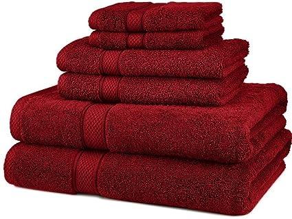 83045d43c239 Hotel collection towels-Premium 6 Piece 100% Egyptian Cotton 725 Gram Bath  Towels Set