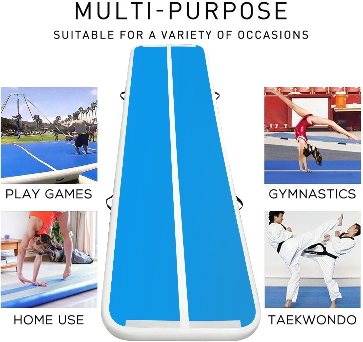 umfassen F/ünf in Eins Aufblasbare Gymnastikmatte FBSPORT Airtrack Matte L/änge 1//3//4//5//6//7//8//9//10//11//12M Aufblasbar Gymnastik Tumbling Matte Air Track Mat Trainingsmatten Aufblasbare Tumbling Matte