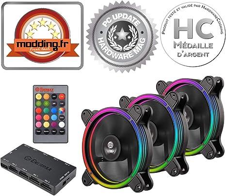 Enermax T.B. RGB Carcasa del Ordenador Ventilador - Ventilador de ...