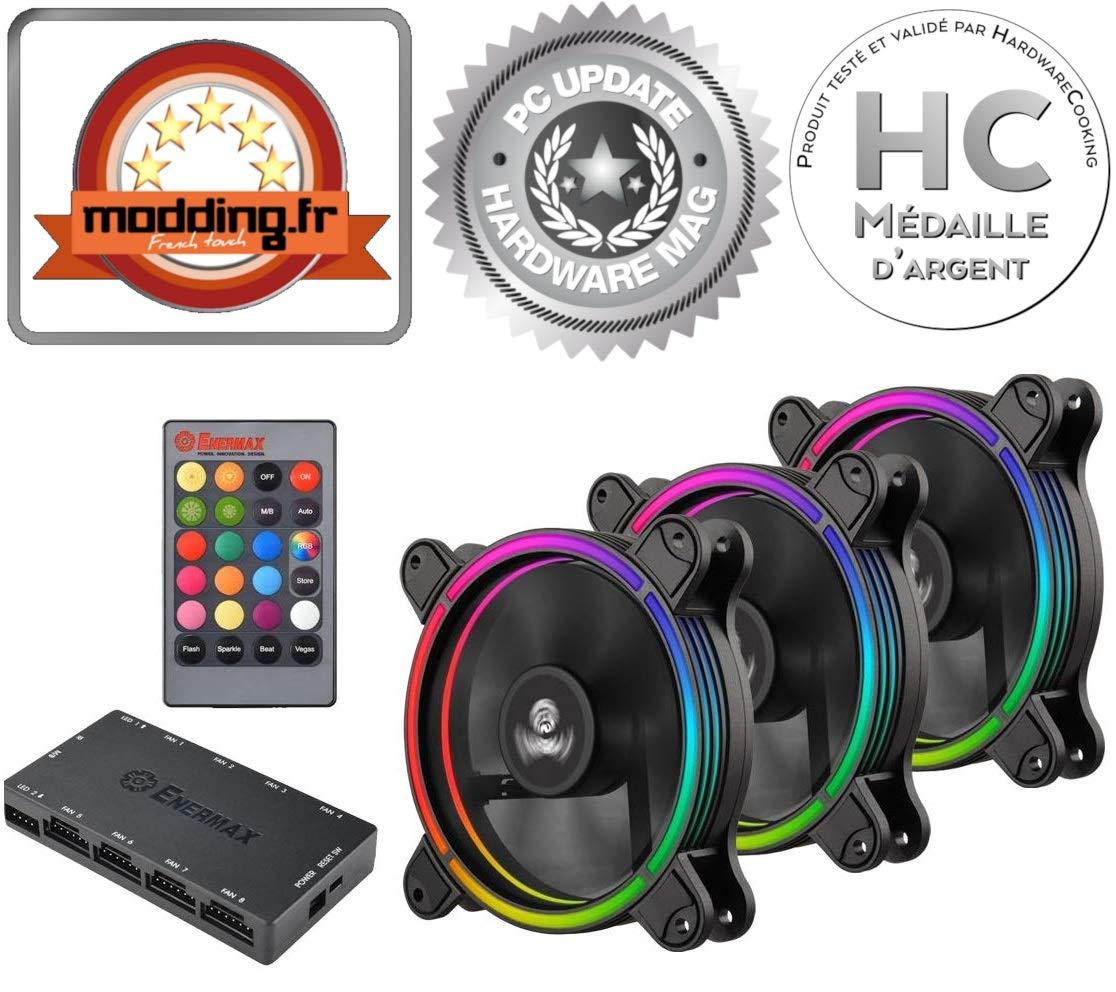 ENERMAX UCTBRGB12-BP3 PC case Fan
