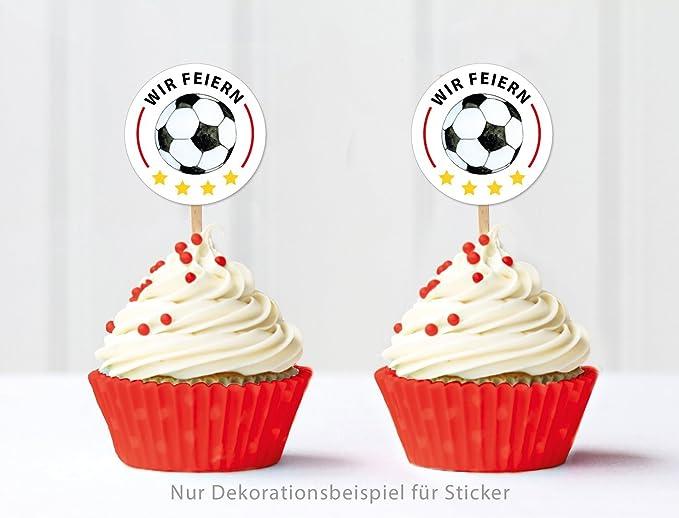 24 pegatinas: Fútbol decorativo para EM 2016