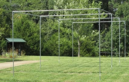 Amazon Com Batting Cage Frame Kit Ez Up Down Baseball Softball