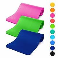 #DoYourFitness Gymnastikmatte 183x61x1,2cm | inkl. Tragegurt - Weiche Oberfläche - Fitnessmatte für Yoga, Pilates & Sport
