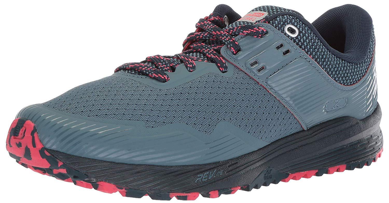 New Balance Women's Nitrel V2 FuelCore Trail Running Shoe, Light Petrol/Galaxy/Blossom, 5.5 B US