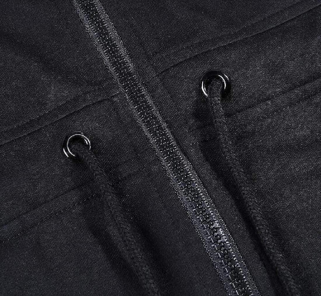 Rrive Women Hoodie Solid Color Casual Sport Zipper Short Sleeve Shorts Jumpsuit Romper
