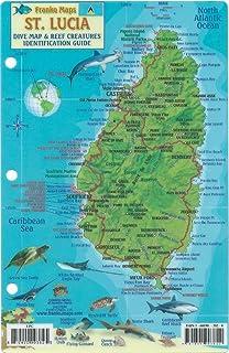 Saint Lucia 1:40, 000 Travel Map (International Travel Maps ...