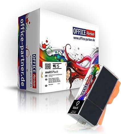 10x NERO CARTUCCIA PER CANON PIXMA ip4850 CARTUCCIA INCHIOSTRO pgi-525 BK