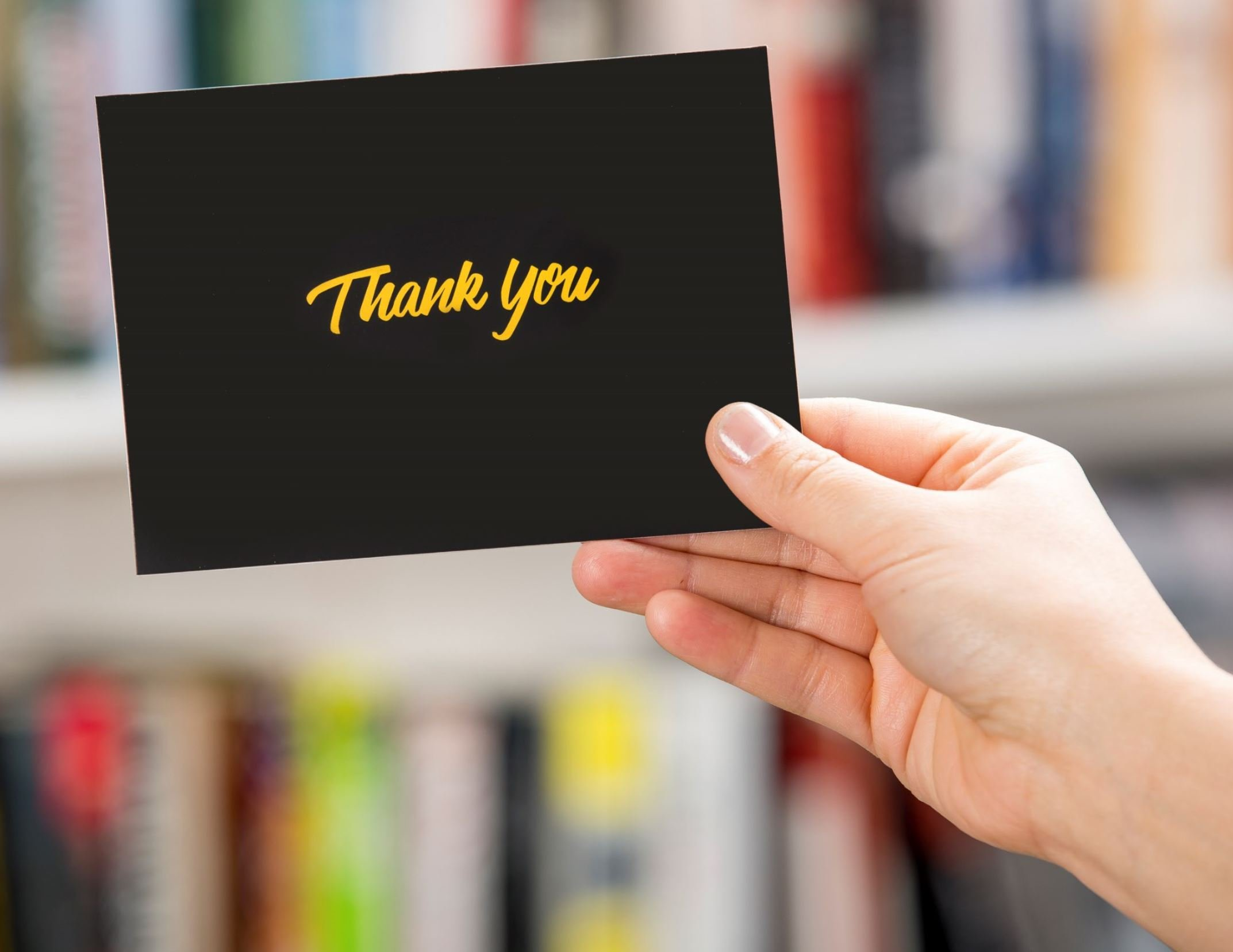 100 Thank You Cards with Envelopes - Thank You Notes, Black & Gold Foil - Blank Cards with Envelopes - For Business, Wedding, Graduation, Baby/Bridal Shower, Funeral, Professional Thank You Cards Bulk by FORTIVO (Image #5)