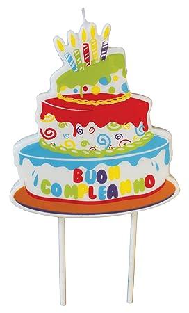 Magic Party CA19 - Vela Tarta Cumpleaños: Amazon.es ...