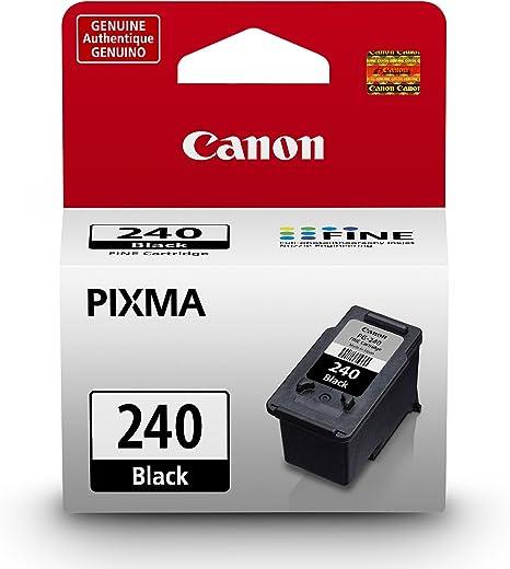 Amazon.com: Cartucho de tinta negra Canon PG-240, compatible ...