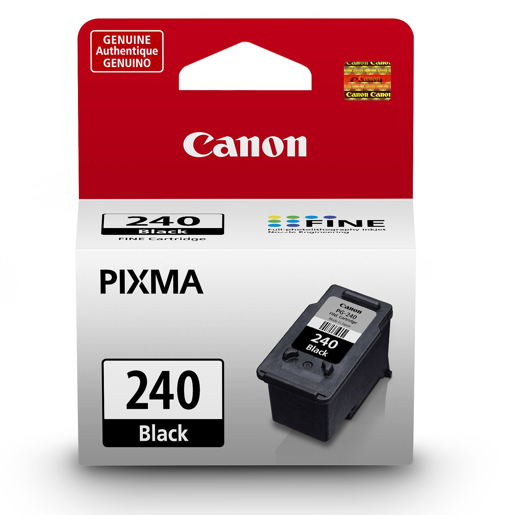 Canon PG-240 Black Ink Cartridge, Compatible to MG3620,MG3520,MG4220,MG3220 and MG2220