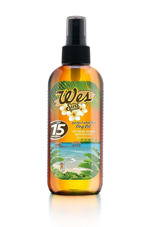Wes Aceite Seco SPF15-150 ml Laboratorios Válquer 21884