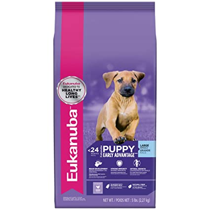 Amazon Com Eukanuba Puppy Large Breed Puppy Food 5 Pounds Pet Supplies