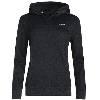0db4fcf485dd06 LA Gear Damen Kapuzenpullover Hoodie Pullover Kapuzensweatshirt Pulli  Sweatshirt Grau 16 (XL)