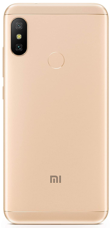 Redmi 6 Pro Gold 4gb Ram 64gb Storage Electronics Hp Iphone 6s Plus No Finger