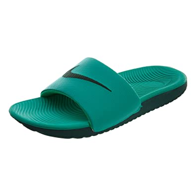 huge selection of 489da b83b6 Nike Wmns Kawa Slide, Zapatillas para Mujer, (Clear Emerald/Midnight Green  001), 39 EU: Amazon.es: Zapatos y complementos