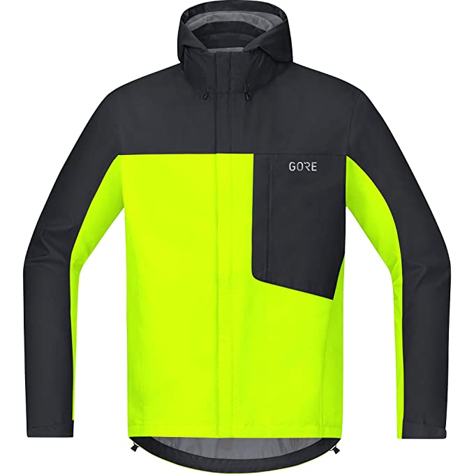 GORE WEAR Men's Waterproof Hooded Bike Jacket