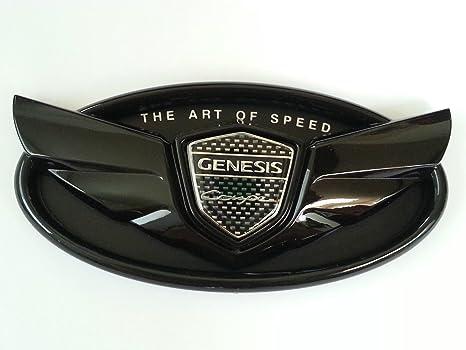 2010 2012 2013 Hyundai Genesis Coupe U0026quot;The Art Of Speedu0026quot; Glossy  Black Wing