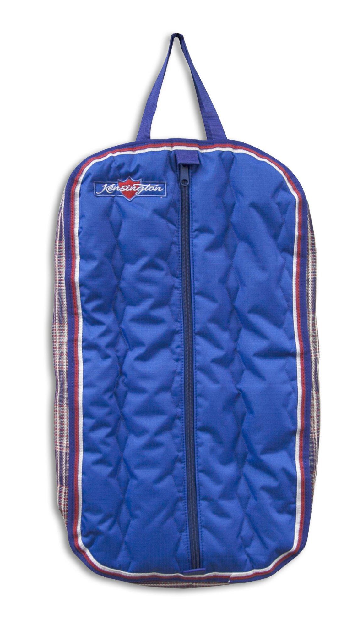 Kensington Signature Halter & Bridle Bag, Navy/Patriot Plaid, One Size