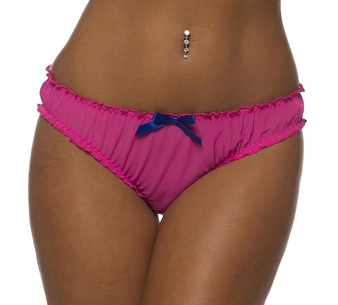 1ba4a417a617 Amazon.com: Velvet Kitten 3111VK - Ruched Rene Ruffle Panty (Small ...