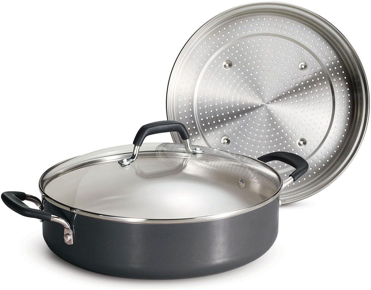 Tramontina Nonstick Everyday Pan, 5.5 qt. - Gray