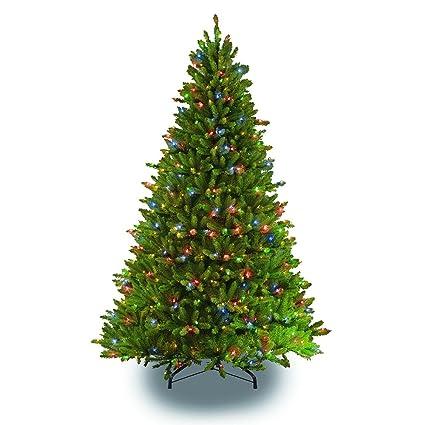 7.5' Pre-Lit Full Fraser Fir Artificial Christmas Tree – Multi-Color LED - Amazon.com: 7.5' Pre-Lit Full Fraser Fir Artificial Christmas Tree