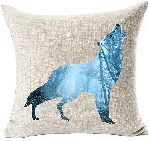 Nordic Peacock Feather Pillow Case Home Sofa Linen Throw Cushion Cover Art Decor