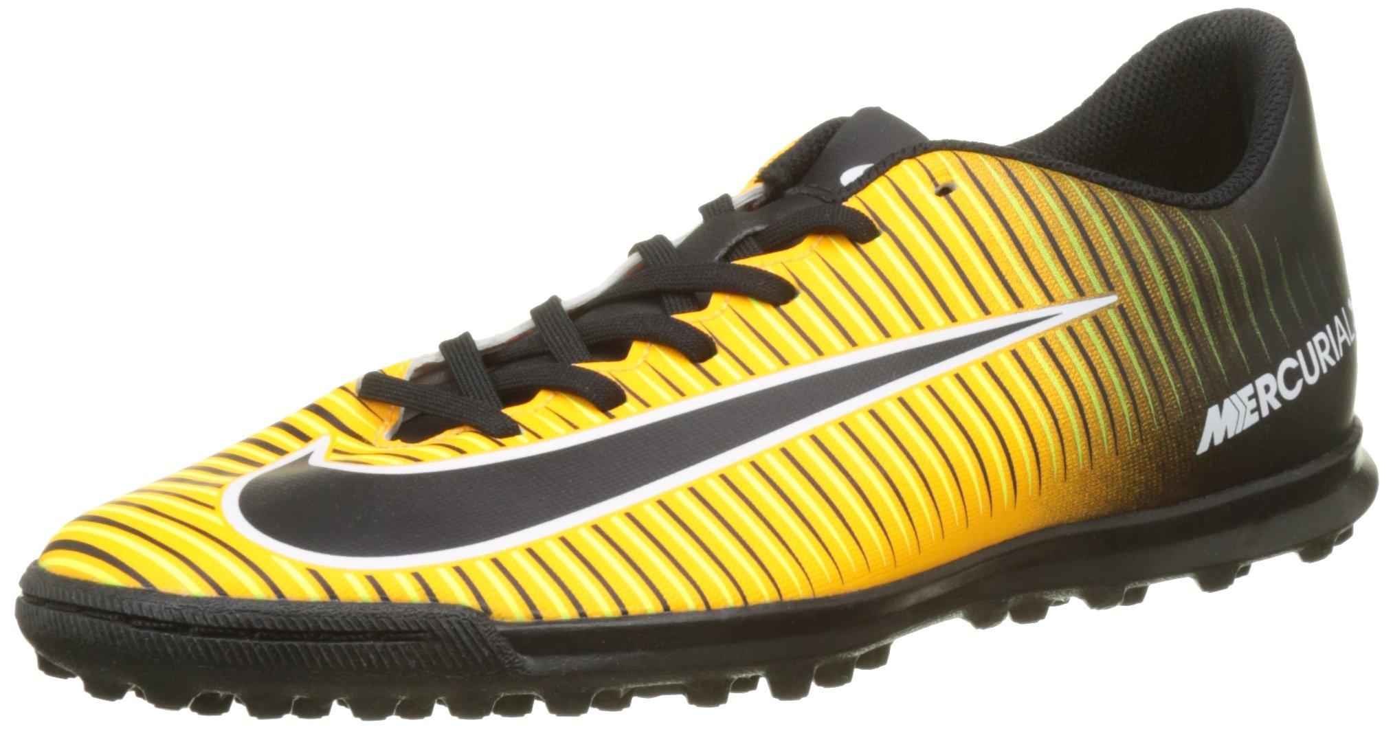 another chance d7837 db4cd NIKE Mercurial Vortex III TF Mens Football Boots 831971 Soccer Cleats (UK  10 US 11 EU 45, Laser Orange Black Volt 801)