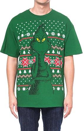 Amazon.com: Dr Seuss How the Grinch Stole Christmas Fair Isle ...